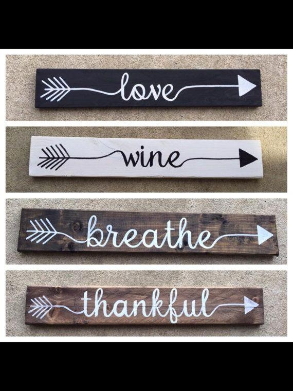 Best 25+ Personalized Wall Art Ideas Only On Pinterest | Vintage Pertaining To Wooden Words Wall Art (View 5 of 20)