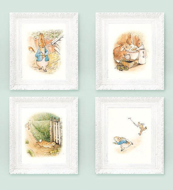 Best 25+ Peter Rabbit Nursery Ideas On Pinterest | Beatrix Potter Throughout Peter Rabbit Wall Art (Image 10 of 20)