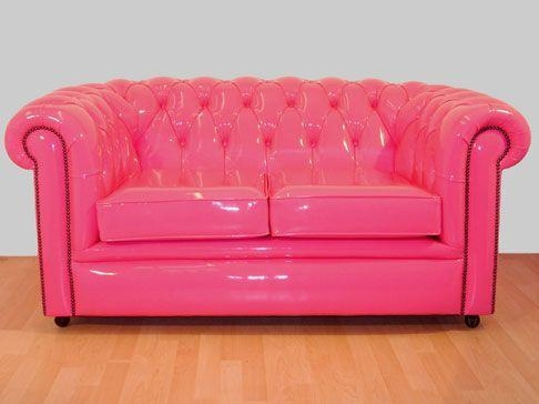 Best 25+ Pink Leather Sofas Ideas On Pinterest | Pink Wall Paints Inside Barbie Sofas (Image 14 of 20)