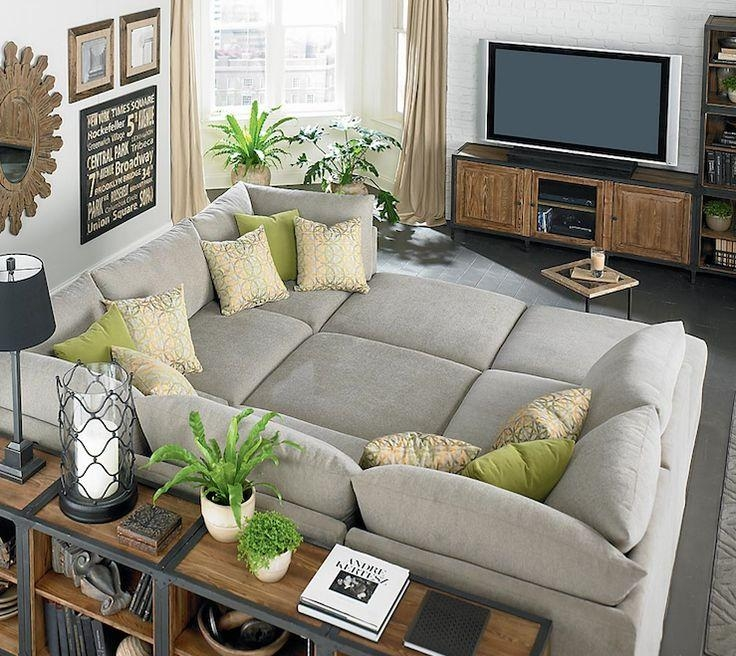 Best 25+ Pit Couch Ideas On Pinterest | Pit Sectional Intended For Giant Sofas (Image 10 of 20)