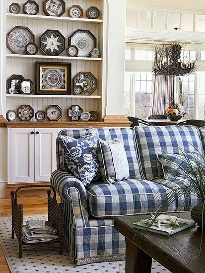 Best 25+ Plaid Couch Ideas On Pinterest | Painting Fabric Inside Gingham Sofas (View 7 of 20)