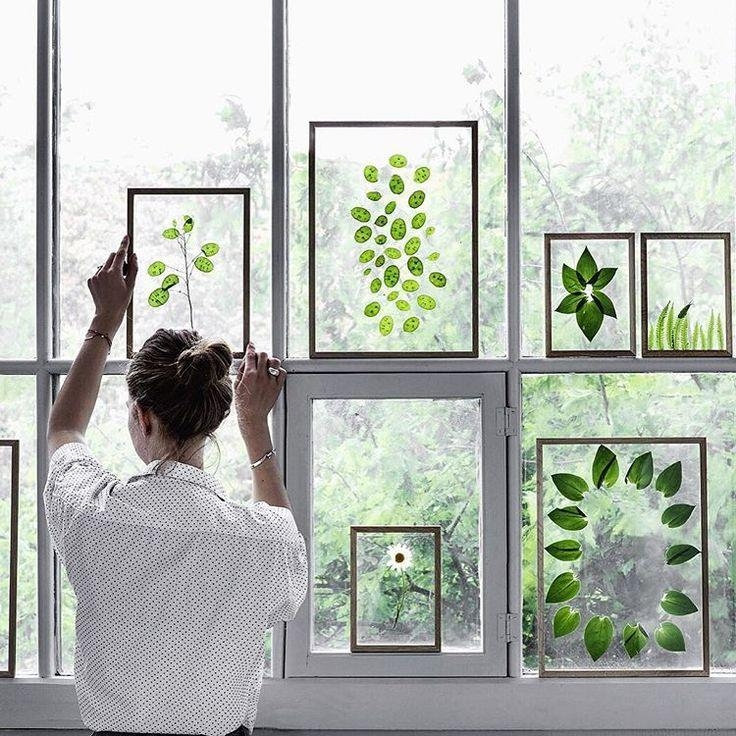 Best 25+ Plant Art Ideas On Pinterest | Kitchen Plants, Window Pertaining To Floral & Plant Wall Art (Image 12 of 20)