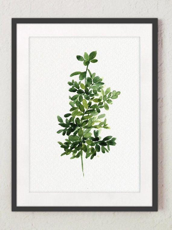 Best 25+ Plant Painting Ideas On Pinterest | Flora, Ficus And Pertaining To Floral & Plant Wall Art (Image 14 of 20)
