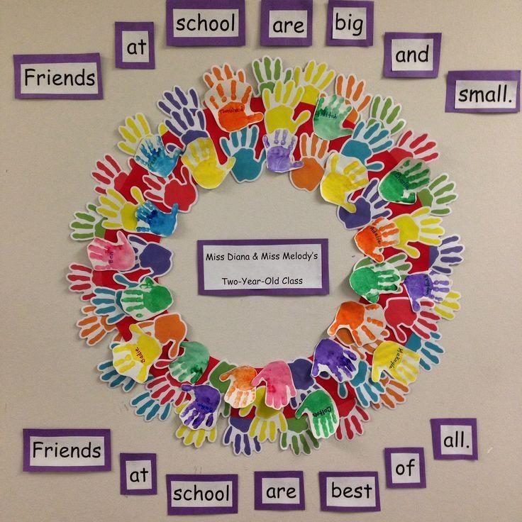 Best 25+ Preschool Art Display Ideas On Pinterest | Toddler Intended For Preschool Wall Art (View 10 of 20)