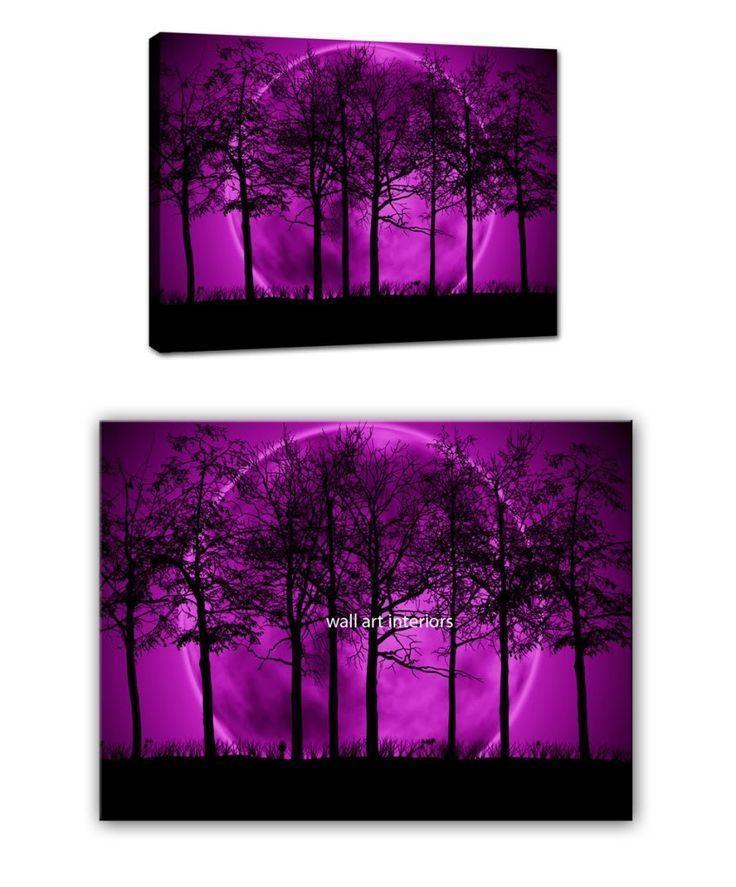 Best 25+ Purple Wall Art Ideas On Pinterest | Purple Printed Art Intended For Purple Canvas Wall Art (Image 4 of 20)