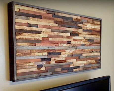 Best 25+ Reclaimed Wood Wall Art Ideas On Pinterest | Farmhouse Within Wall Art On Wood (View 3 of 20)