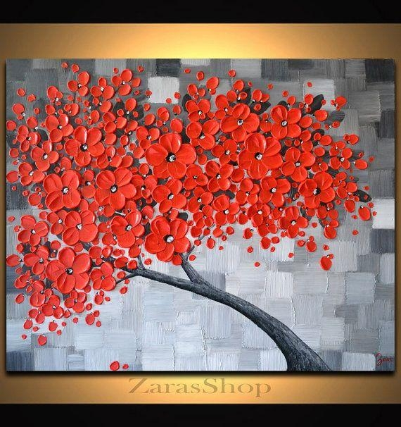 Best 25+ Red Cherry Blossom Ideas On Pinterest | Bonsai Wire For Red Cherry Blossom Wall Art (Image 7 of 20)