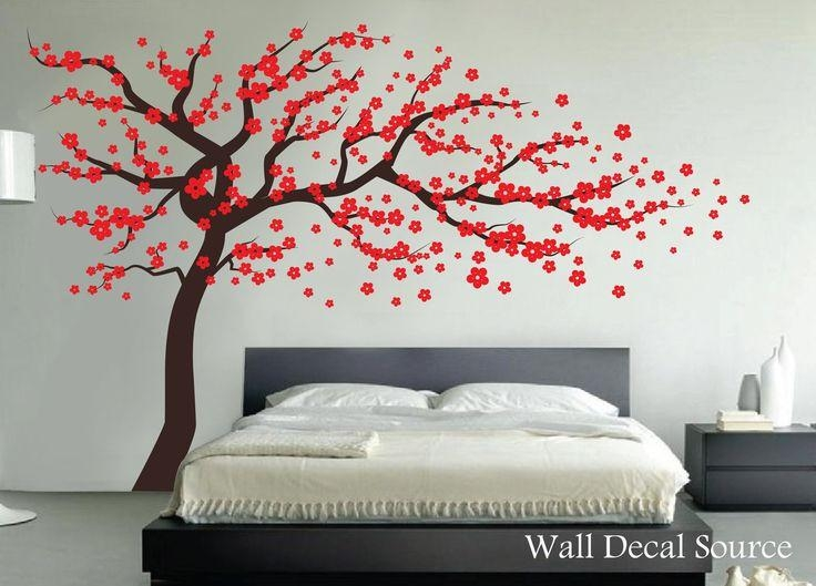 Best 25+ Red Cherry Blossom Ideas On Pinterest | Bonsai Wire Intended For Red Cherry Blossom Wall Art (View 3 of 20)
