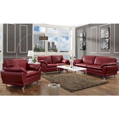 Best 25+ Red Leather Sofas Ideas On Pinterest | Red Leather In Coasters Sofas (Image 9 of 20)