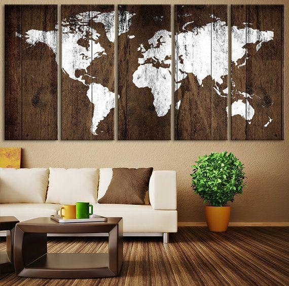 Best 25+ Rustic Wall Art Ideas On Pinterest | Rustic Wall Decor With Regard To Elements Wall Art (View 11 of 20)