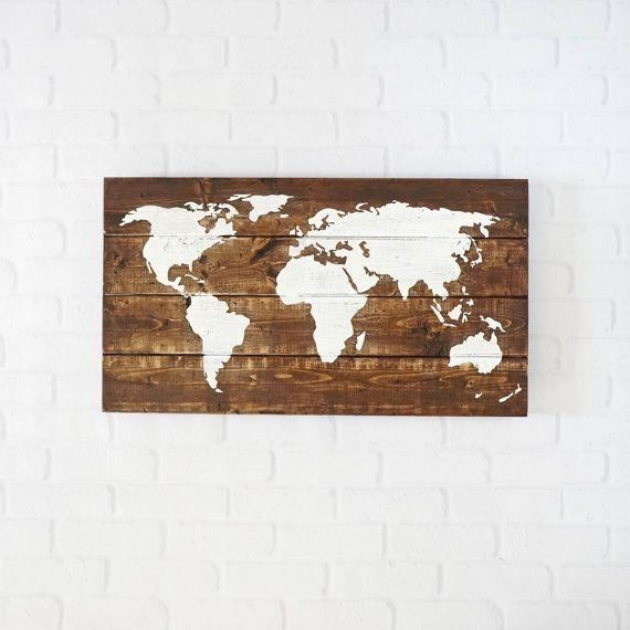 Best 25+ Rustic World Globes Ideas On Pinterest | Globe, World Map For World Wall Art (Image 8 of 20)