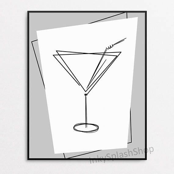 Best 25+ Scandinavian Cocktail Glasses Ideas On Pinterest Regarding Martini Glass Wall Art (Image 3 of 20)