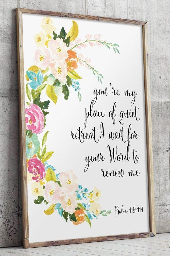Best 25+ Scripture Wall Art Ideas On Pinterest | Christian Art Intended For Nursery Bible Verses Wall Decals (Image 8 of 20)