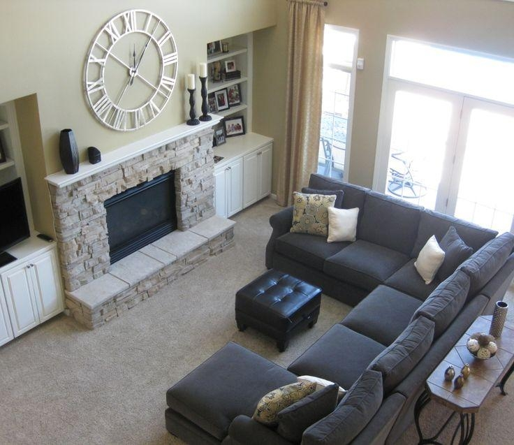 Best 25+ Sectional Sofa Layout Ideas Only On Pinterest | Family Intended For Small Sofas With Chaise Lounge (View 14 of 20)