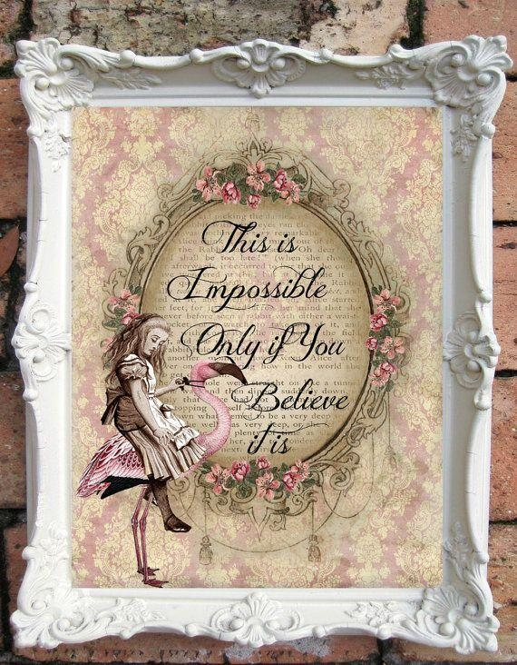 Best 25+ Shabby Chic Art Ideas On Pinterest | Shabby Chic Boxes Throughout Shabby Chic Wall Art (Image 4 of 20)