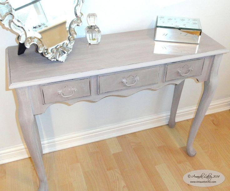 Best 25+ Shabby Chic Console Table Ideas On Pinterest | Pottery In Shabby Chic Sofa Tables (View 13 of 20)
