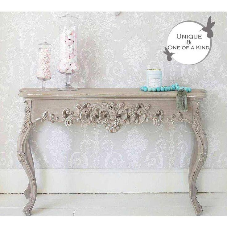 Best 25+ Shabby Chic Console Table Ideas On Pinterest | Pottery Regarding Shabby Chic Sofa Tables (View 20 of 20)
