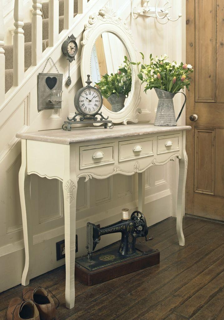 Best 25+ Shabby Chic Console Table Ideas On Pinterest | Pottery With Shabby Chic Sofa Tables (View 12 of 20)
