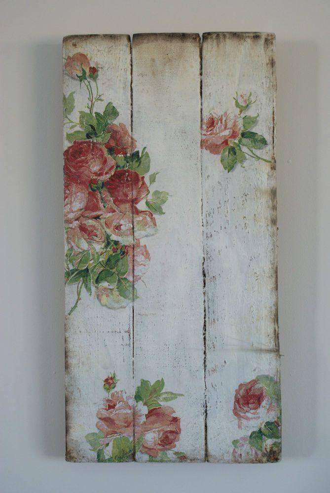 Best 25+ Shabby Chic Signs Ideas On Pinterest | Shabby Chic Pertaining To Shabby Chic Wall Art (Image 5 of 20)