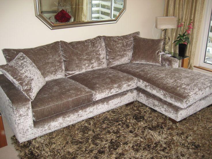 Best 25+ Silver Velvet Sofa Ideas Only On Pinterest | Grey Velvet Within Brown Velvet Sofas (Image 1 of 20)