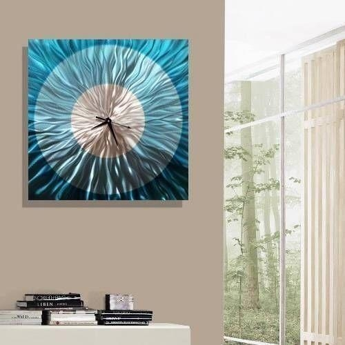 Best 25+ Silver Wall Art Ideas On Pinterest | Star Bedroom Inside Turquoise And Brown Wall Art (Image 4 of 20)