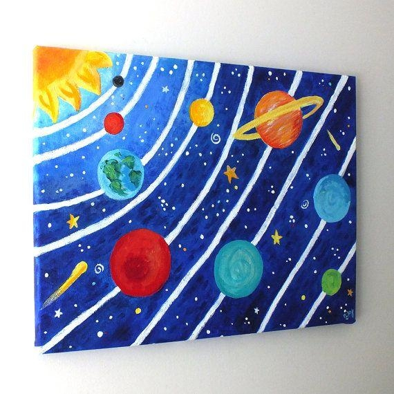 Best 25+ Solar System Art Ideas On Pinterest | Picture Of Solar For Solar System Wall Art (Image 10 of 20)