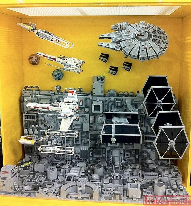 Best 25+ Star Wars Sets Ideas On Pinterest | Star Wars Bedroom Pertaining To Lego Star Wars Wall Art (View 8 of 20)
