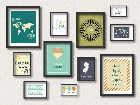 Best 25+ Travel Gallery Wall Ideas On Pinterest | Travel Wall With Wall Art Print Sets (Image 11 of 20)