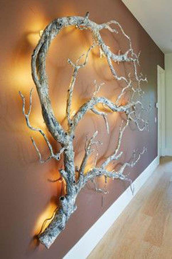 Best 25+ Tree Branch Decor Ideas On Pinterest | Branches, Tree In Tree Branch Wall Art (Image 5 of 20)