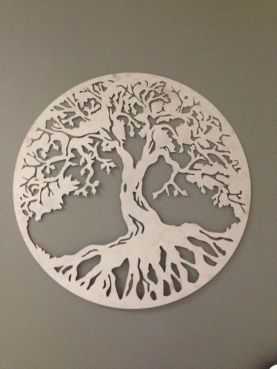 Best 25+ Tree Of Life Ideas On Pinterest | Tree Of Life Art, Tree Regarding Oak Tree Metal Wall Art (Image 11 of 20)