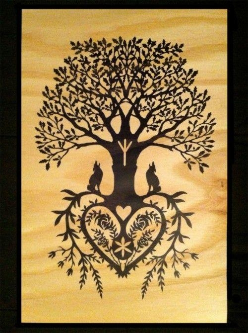 Best 25+ Tree Of Life Quotes Ideas On Pinterest | Roots And Wings With Regard To Celtic Tree Of Life Wall Art (Image 13 of 20)