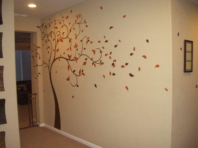 Best 25+ Tree Wall Murals Ideas On Pinterest | Wall Murals Bedroom Within Painted Trees Wall Art (View 15 of 20)