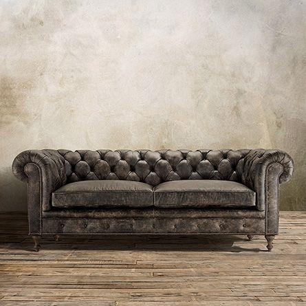 Best 25+ Tufted Leather Sofa Ideas On Pinterest | Restoration Throughout Brown Leather Tufted Sofas (Image 4 of 20)