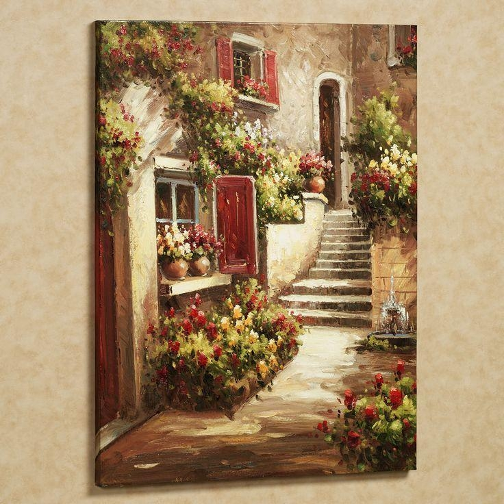 Best 25+ Tuscan Art Ideas Only On Pinterest | Oil Paintings With Regard To Tuscany Wall Art (Image 3 of 20)