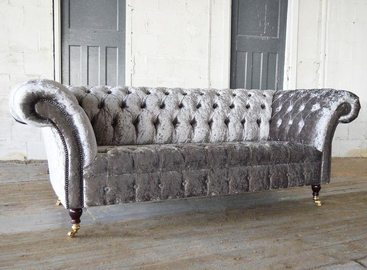 Best 25+ Velvet Chesterfield Sofa Ideas On Pinterest Pertaining To Purple Chesterfield Sofas (Image 7 of 20)