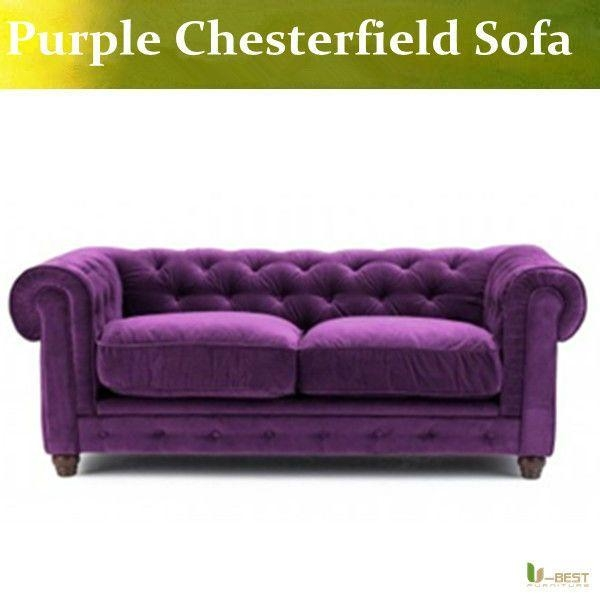 Best 25+ Velvet Chesterfield Sofa Ideas On Pinterest With Regard To Purple Chesterfield Sofas (Image 8 of 20)