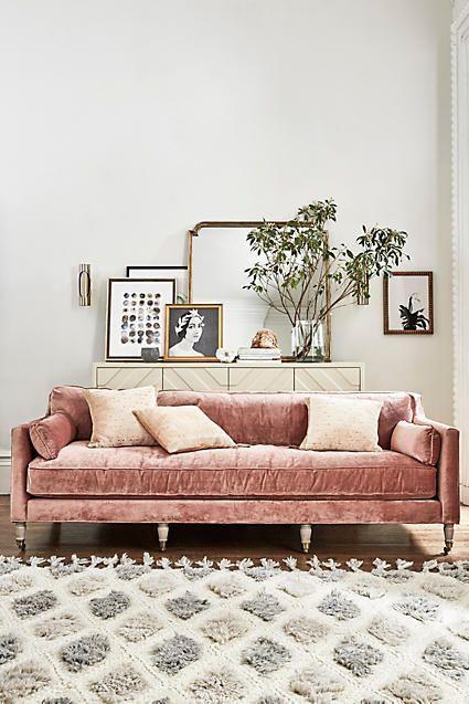 Best 25+ Velvet Couch Ideas On Pinterest | Velvet Sofa, Green Sofa For Brown Velvet Sofas (View 11 of 20)