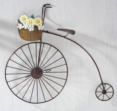 Best 25+ Vintage Bike Decor Ideas On Pinterest | Vintage Bikes Within Bicycle Metal Wall Art (View 6 of 20)
