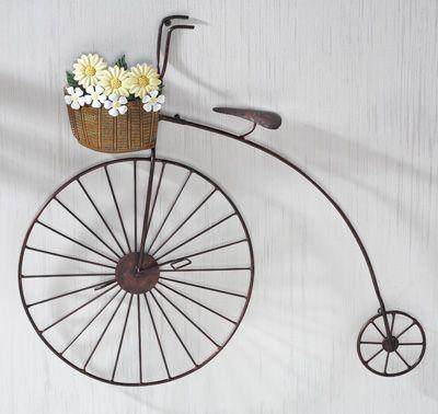Best 25+ Vintage Bike Decor Ideas On Pinterest | Vintage Bikes Within Bicycle Wall Art Decor (Image 5 of 20)