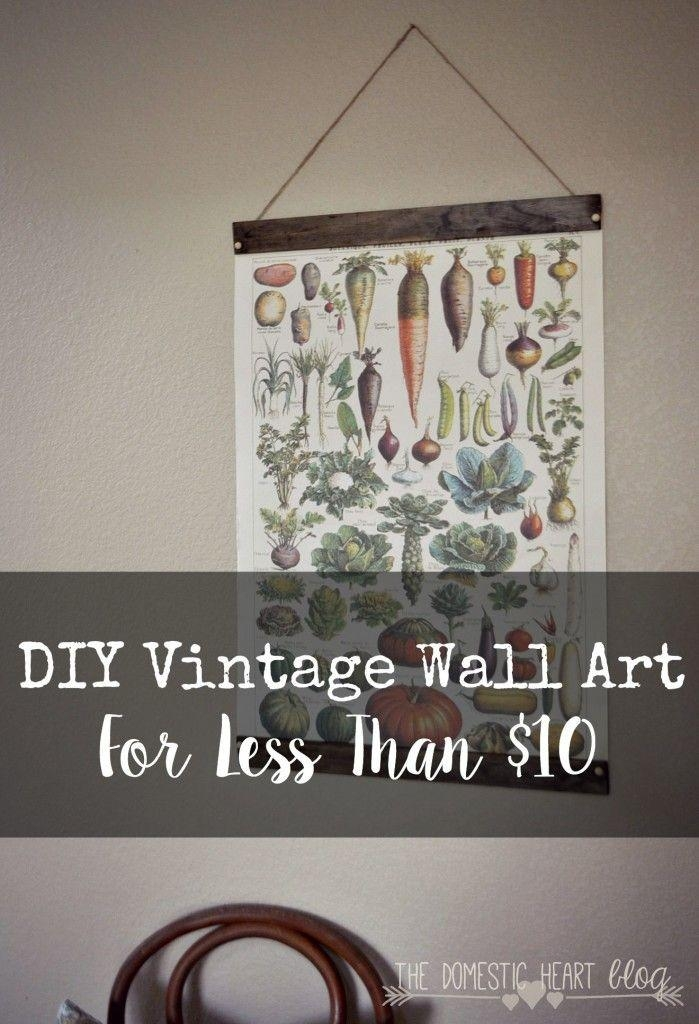 Best 25+ Vintage Wall Art Ideas On Pinterest | Eclectic Gallery For Large Retro Wall Art (View 2 of 20)