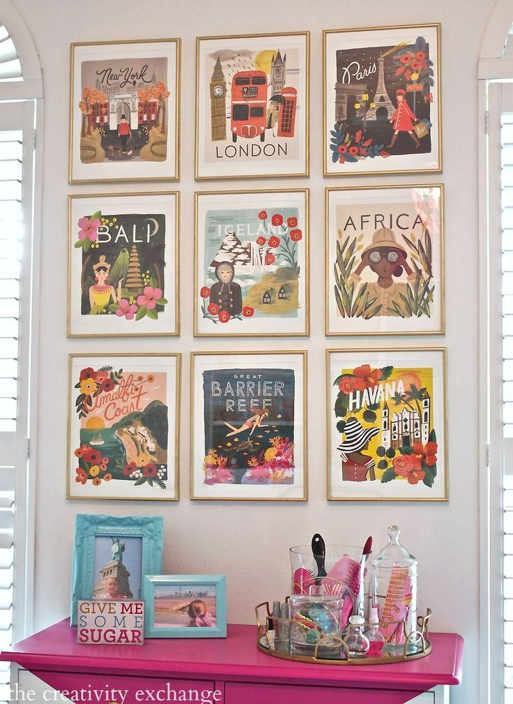 Best 25+ Vintage Wall Art Ideas On Pinterest | Eclectic Gallery With Regard To Large Retro Wall Art (Image 8 of 20)