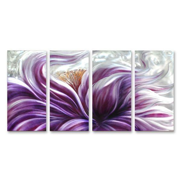 Best 25+ Wall Art Australia Ideas On Pinterest | Home And Pertaining To Purple Flower Metal Wall Art (Image 4 of 20)