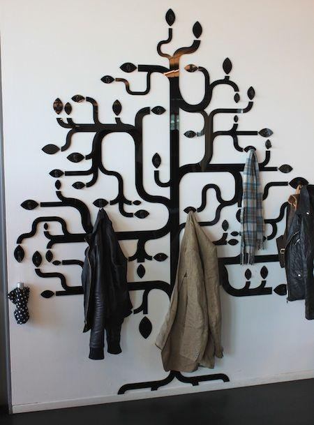 Featured Image of Wall Art Coat Hooks