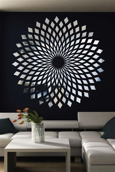 Best 25+ Wall Decals Ideas On Pinterest | Decorative Wall Mirrors Within Modern Mirror Wall Art (Image 5 of 20)