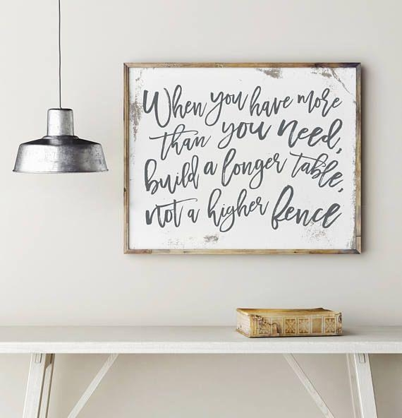 Best 25+ Wall Decor Quotes Ideas On Pinterest | Bedroom Signs With Kitchen And Dining Wall Art (Image 14 of 20)