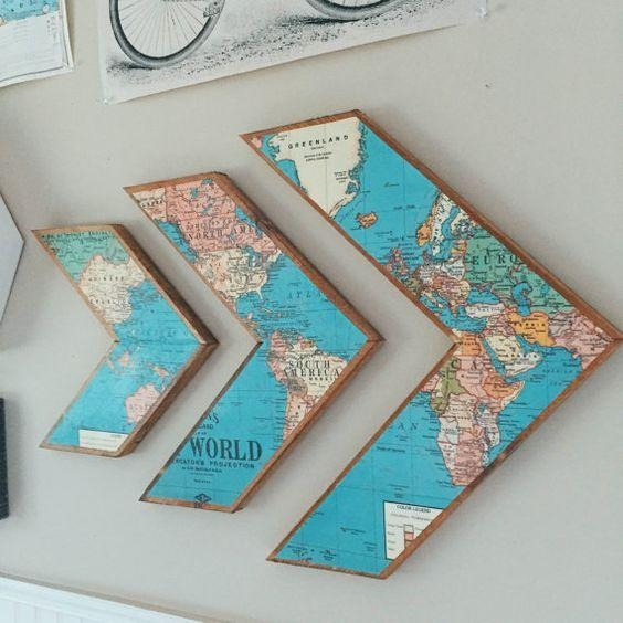 Best 25+ Wall Decorations Ideas Only On Pinterest | Home Decor Throughout Pinterest Wall Art Decor (View 14 of 20)