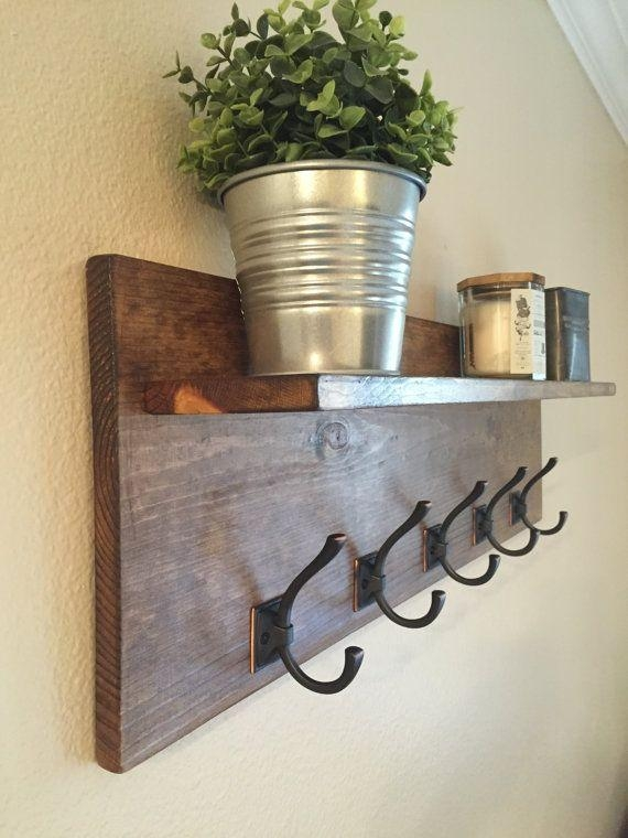 Best 25+ Wall Mounted Coat Rack Ideas On Pinterest | Coat Hooks In Wall Art Coat Hooks (Image 8 of 20)