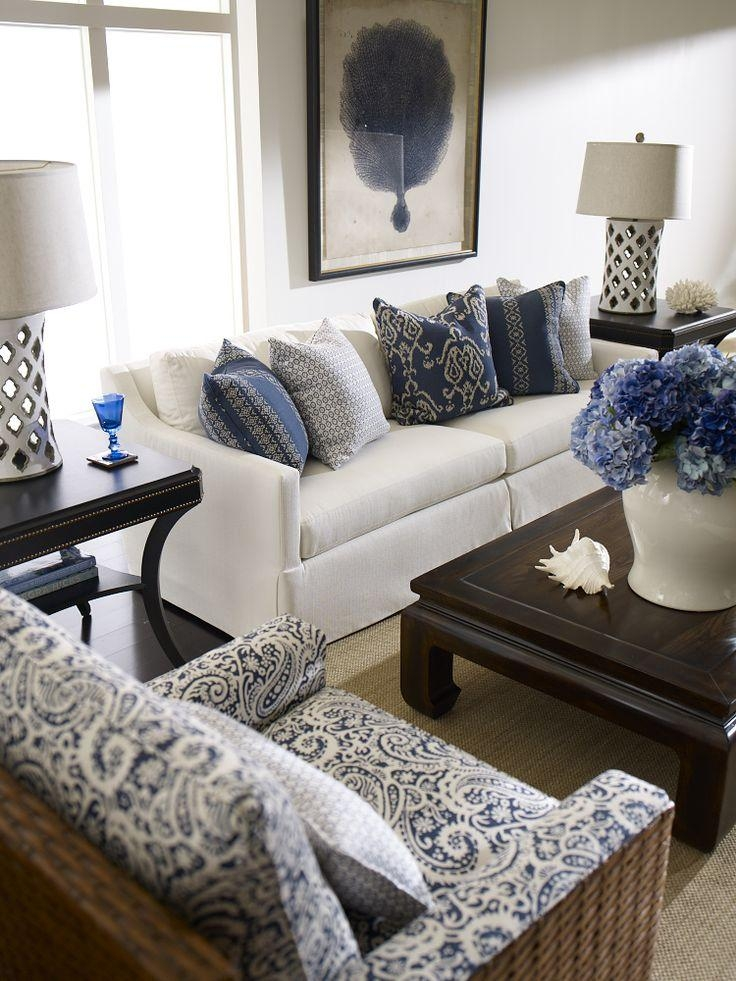Best 25+ White Sofas Ideas On Pinterest | White Sofa Decor, Blue With Blue And White Sofas (View 15 of 20)