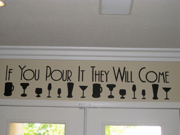 Best 25+ Wine Wall Art Ideas On Pinterest | Wine Wall Decor Within Wall Art For Bar Area (Image 15 of 20)