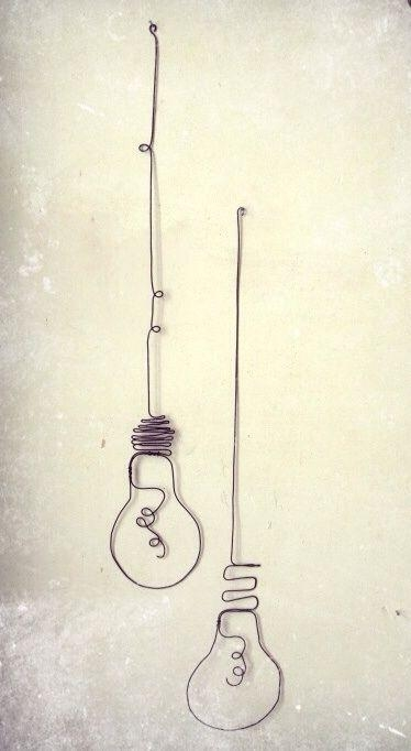 Best 25+ Wire Art Ideas On Pinterest | Diy Gifts For Friends Inside Wire Wall Art Decors (View 13 of 20)